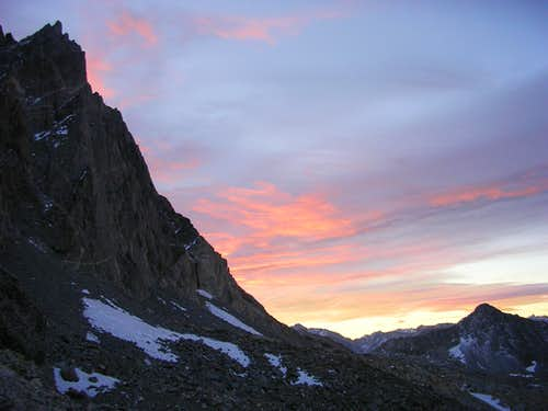 Sunrise at Thunderbolt Pass