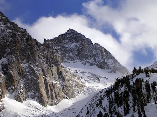 Mt. Gayley in winter