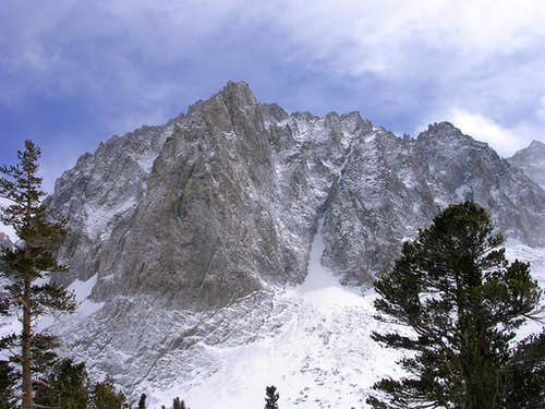 North Face of Temple Crag in Winter