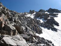 NE Buttress Variation of the North Couloir