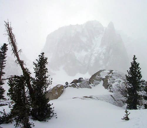 Temple Crag in Winter