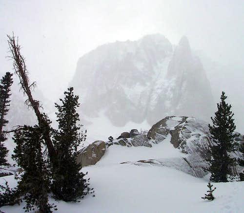 Temple Crag in Winter