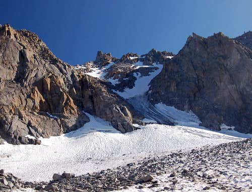 The North Couloir Avalanche
