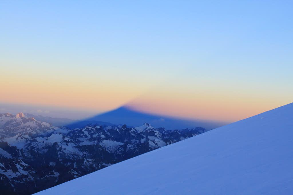 Elbrus shadow