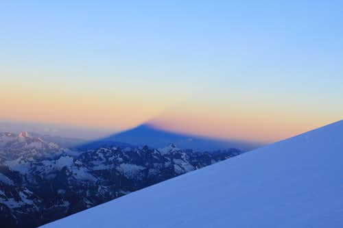 Elbrus shadow