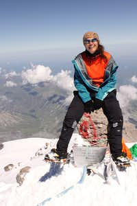 I did not want to come down...