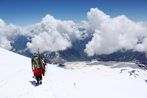 Elbrus Descent