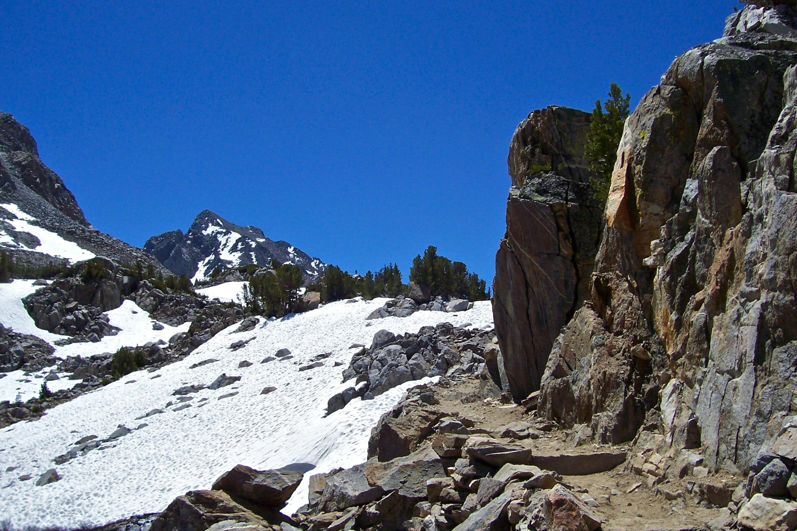 South Lake to Bishop Pass Trail