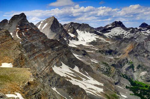 McIntyre and Big Basin Peak