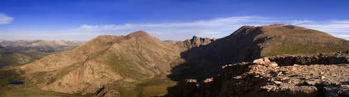 Bierstadt-Sawtooth-Evans Panorama