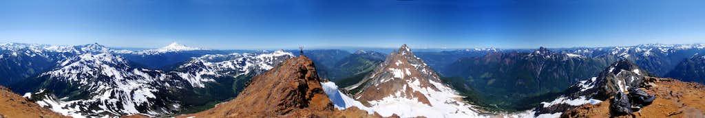 Mount Larrabee 360° View