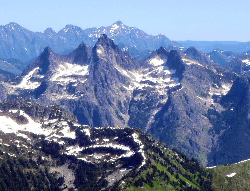Illusion Peaks and Mount Rexford