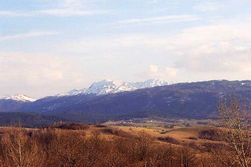 From a distance, Veliki...