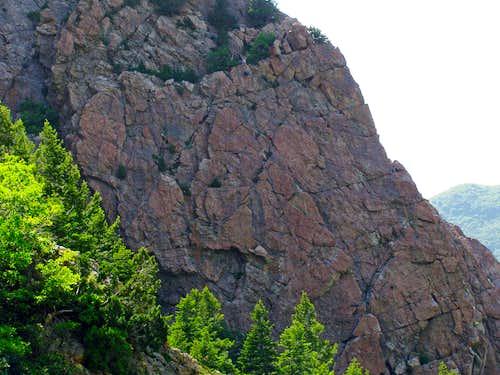 Storm Mountain climbers