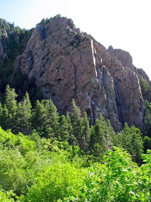 Storm Mountain cliffs