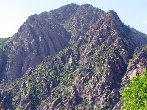 Mountain across from Stairs Gulch