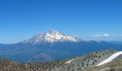 This view of Mt. Shasta is...