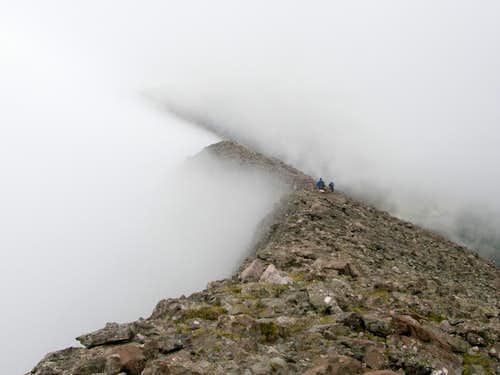 West Ridge of Challenger
