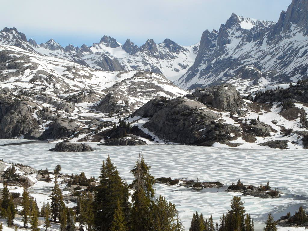 Island Lake/Titcomb Basin