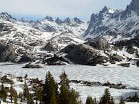 Island Lake/Titcomb Basin