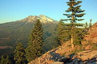 Mt. Shasta from the Black Butte Trail
