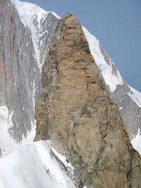 Rappel route from the summit of the Dent du Gent