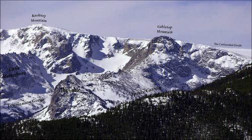 Gabletop Mountain & Neighbors