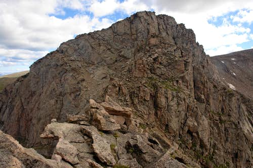 Sawtooth: the final section of the traverse