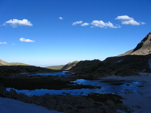 Blue Lake drainage