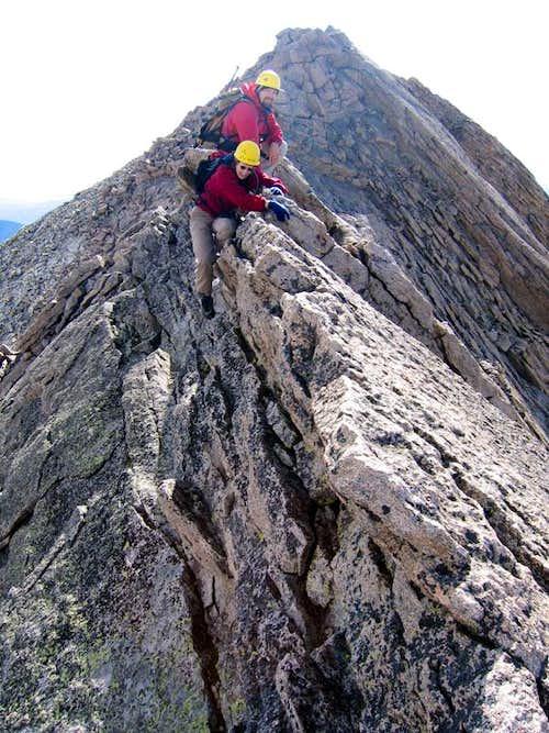 Meeker summit ridge