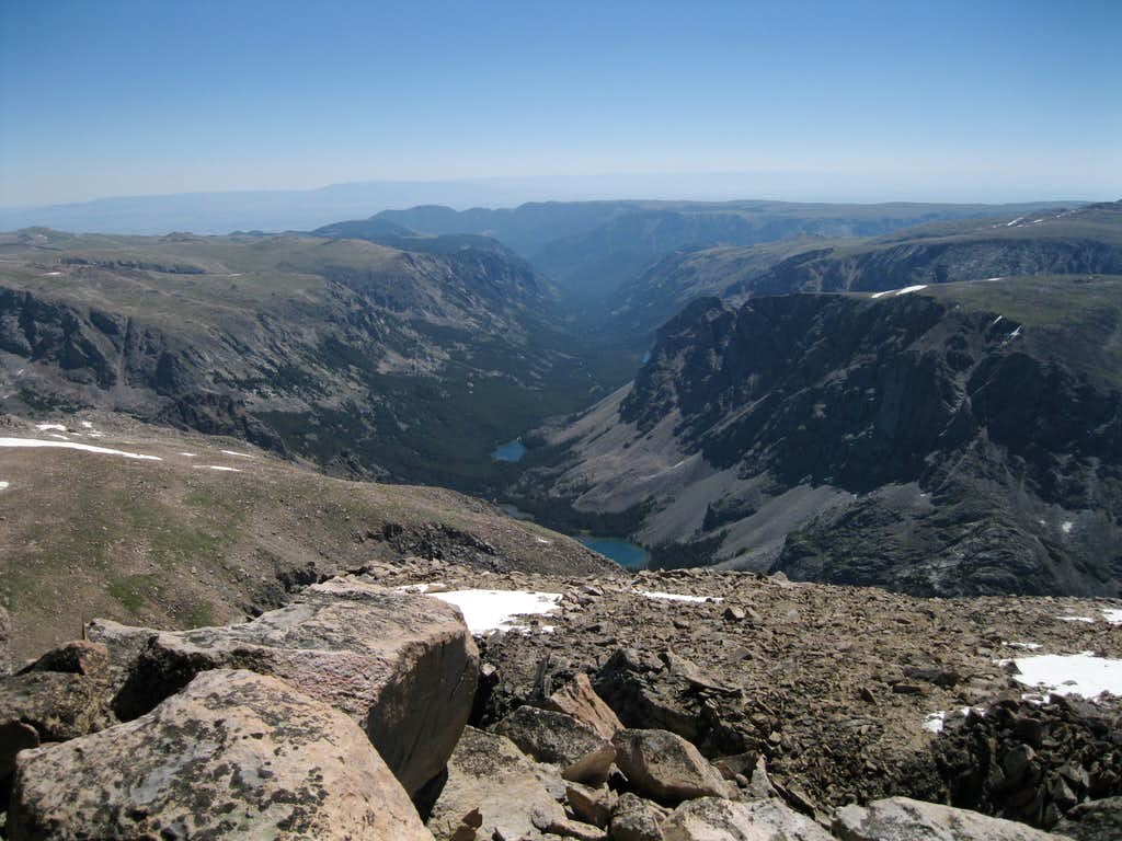 View off of Whitetail Peak