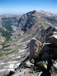 view from Whitetail Peak