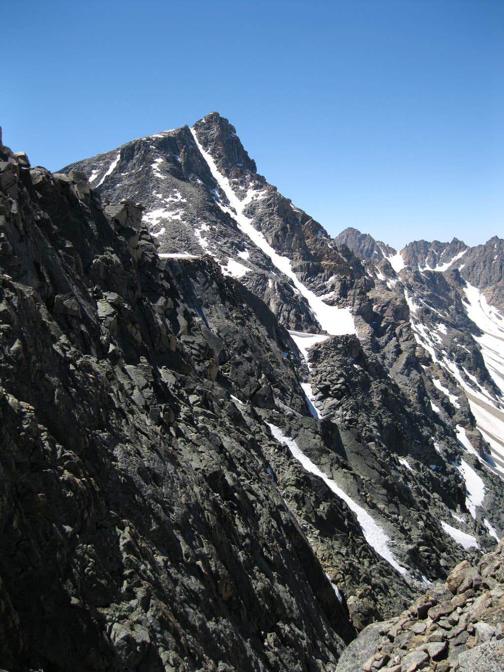 NE of Whitetail Peak