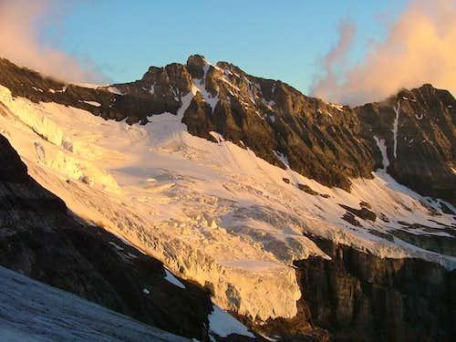 Mt Victoria ridge in the...