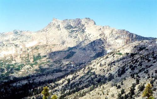 Wells Peak from the East