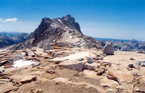 Wells Peak, north ridge