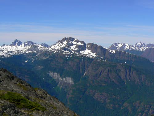 Mt McBride East Aspect