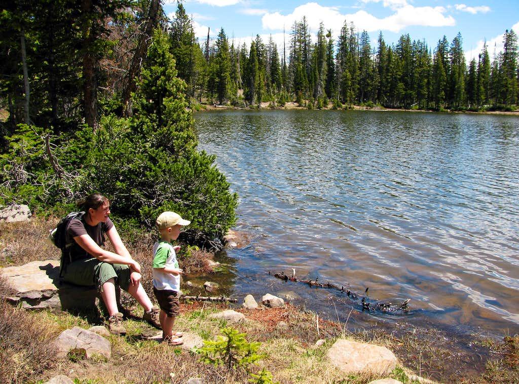 Break at Fehr Lake
