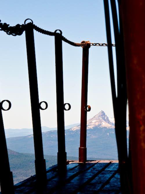 Thielsen from Mt. Scott Lookout