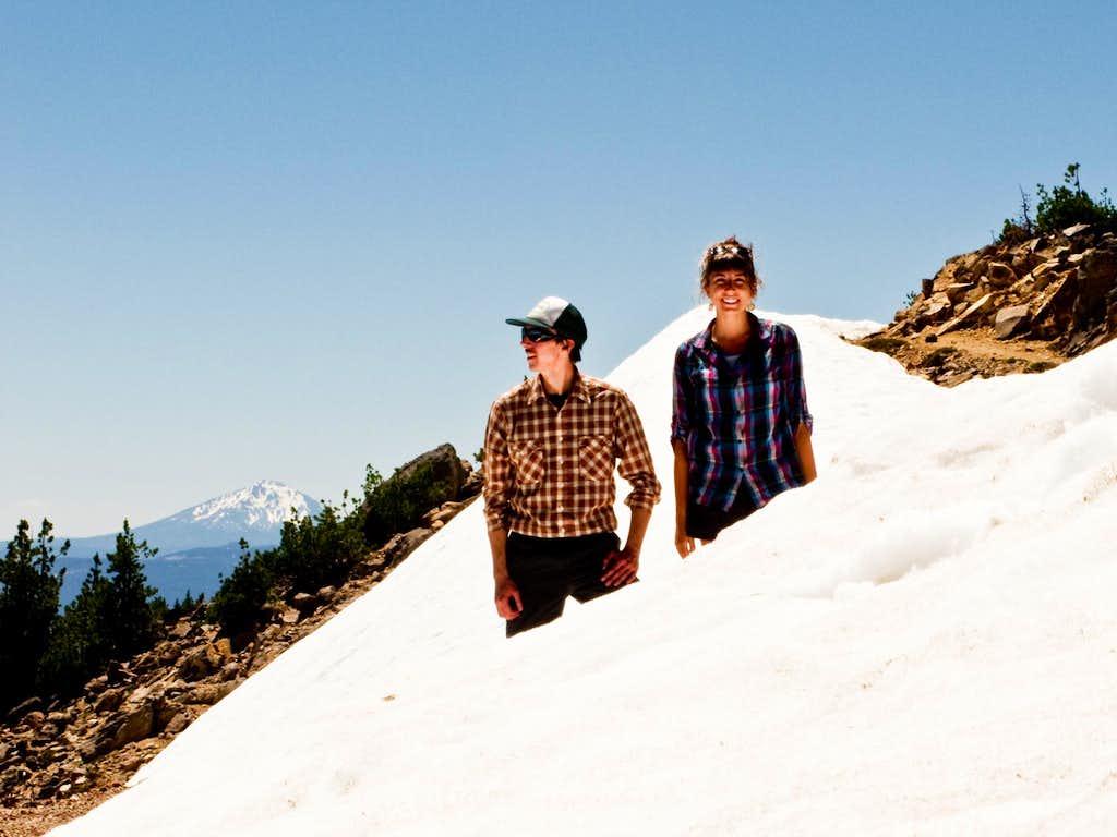 Marcu and I along the Summit