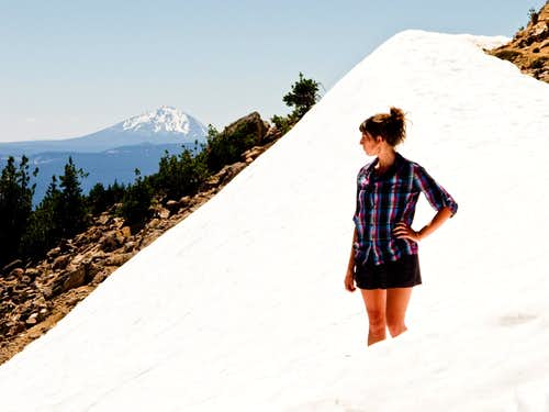 Ashley Marcu - Mt. Scott Summit