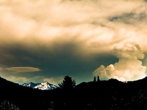 Thunderstorm Over Diamond Peak