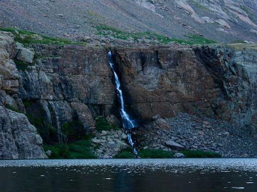 Falls at Willow Lake