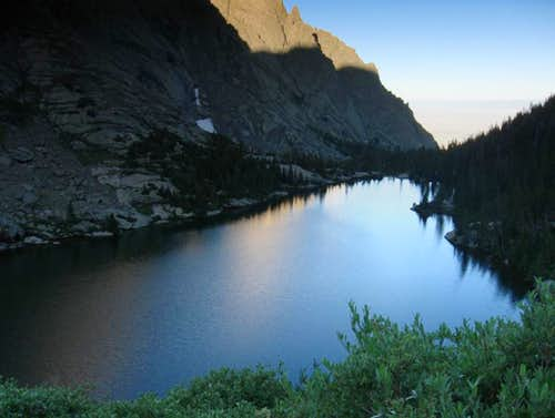 Willow Lake morning