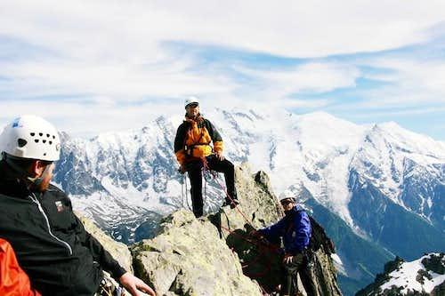 Peppeak on the summit of...