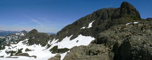 Alexandra Peak South Aspect