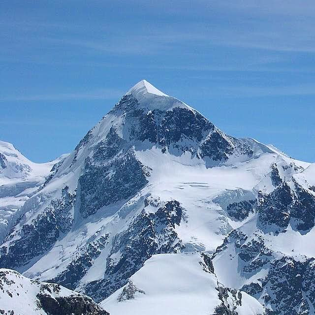 West face of West Breithorn...