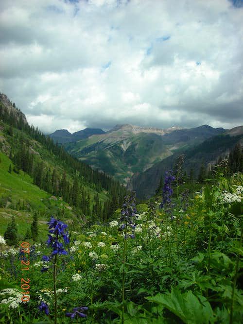 Peaks around Mount Sneffels