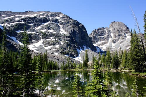 Seen from Sheep Lake