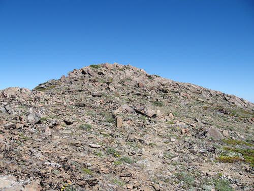 Maiden Peak summit block